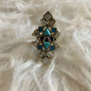 3/$30 ⭐️ STELLA & DOT | Stone Tile Ring